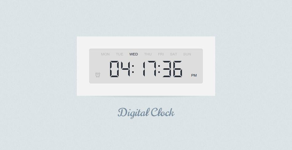 Membuat Jam Digital Dengan Css3